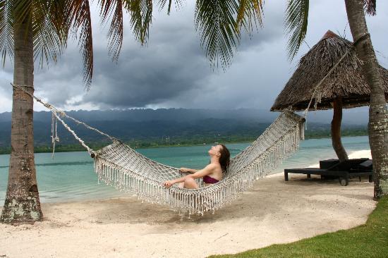 Badian Island, الفلبين: bardian beach
