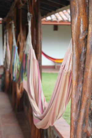 Hotel Santa Catalina: lazy days in hammocks outside your room!