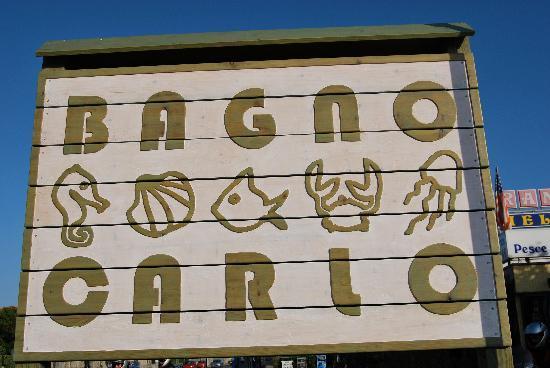 Marina di Pietrasanta, Italy: Benvenuti al Bagno Carlo
