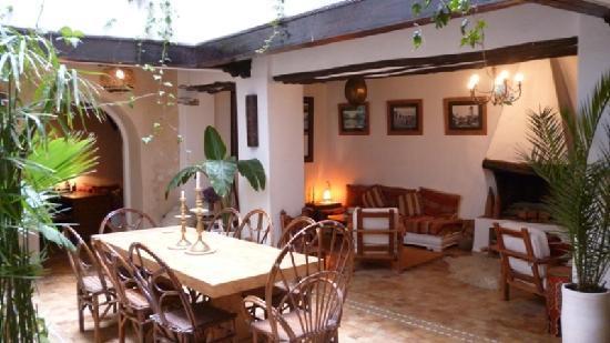 Riad 'Chez Dar Ma': ground floor
