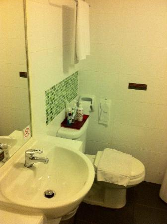 The Inn Saladaeng: Sink and toilet