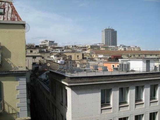 B&B Attico Partenopeo: front view from balcony