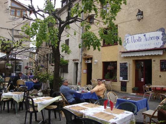 Greolieres, Francja: terrasse