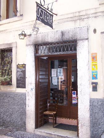 Osteria A La Carega : entrata