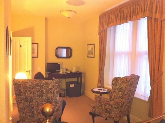Adcote House: room