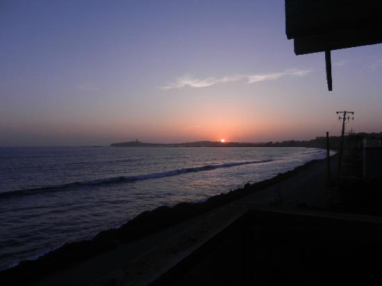 Cypress Inn on Miramar Beach: sunset from the balcony