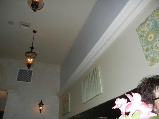 Osceola Bistro : Nice Light Fixtures and sound abatement pictures