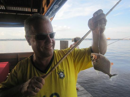Pousada Manaus: Piranhas angeln