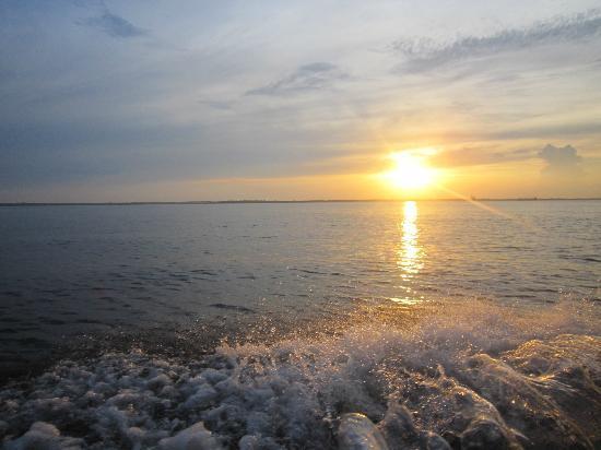 Pousada Manaus: Sonnenuntergang auf dem Rio Negro
