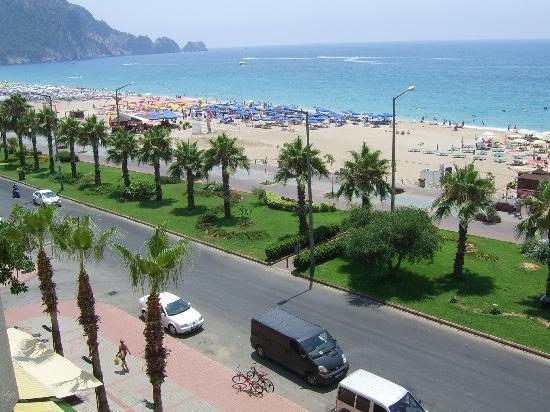 Kleopatra Beach Hotel: Seaview