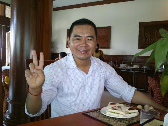 Gloria Angkor Hotel: Mr. Kim Sophath, Manager