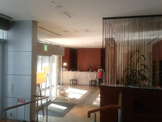 Library Hotel Higashi - Nibancho: Reception