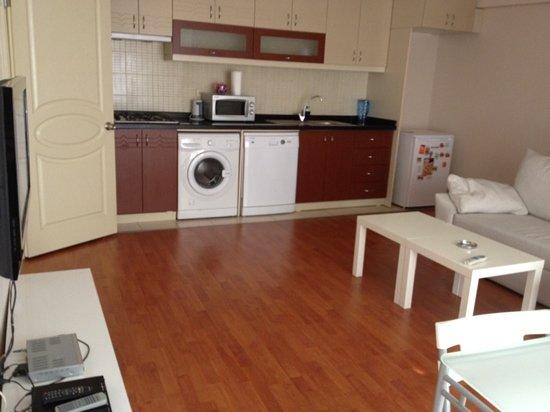Akin Suites Istanbul: living room