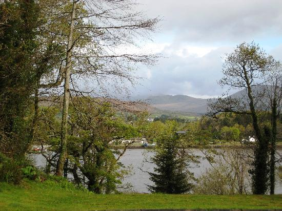 Watersedge Kenmare: view from our room