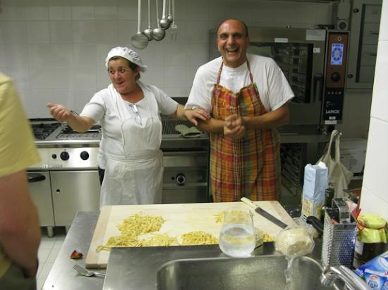 Slow Life Umbria - Relais de charme : Preparing a Local Dish:  Wild Boar Fettuccine