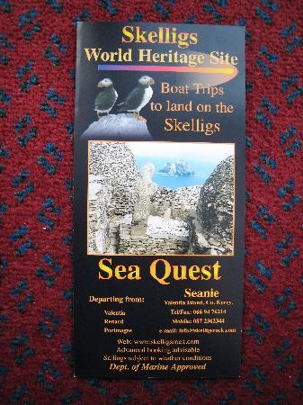Watersedge Kenmare: Sea Quest for Skellig Michael