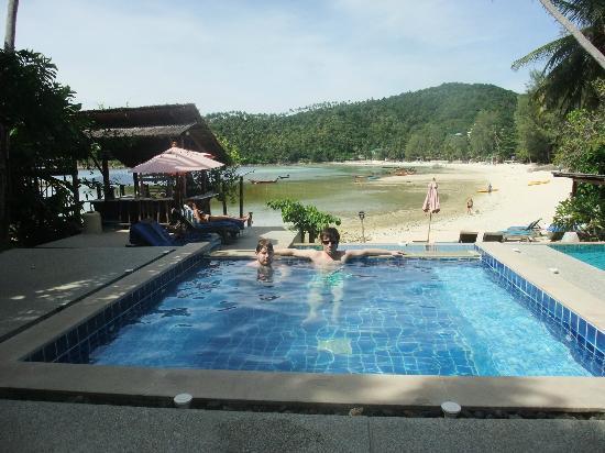 Cookies's Salad Resort: The top pool