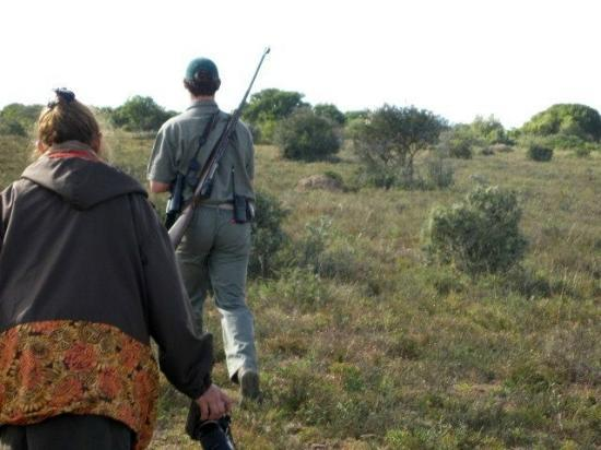 Bucklands Private Game Reserve: Bush walk