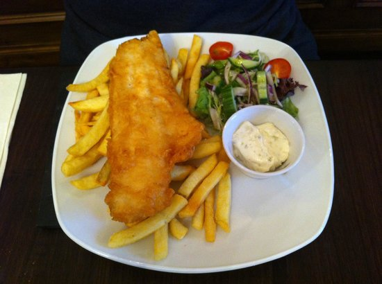 Harbour House: traditional Fish and Chips