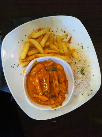 Harbour House: Curry