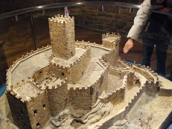 Museo Castillo de Javier: Maqueta del castillo