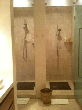 Normal Shower In Spa Changing Room Upper Floor Picture