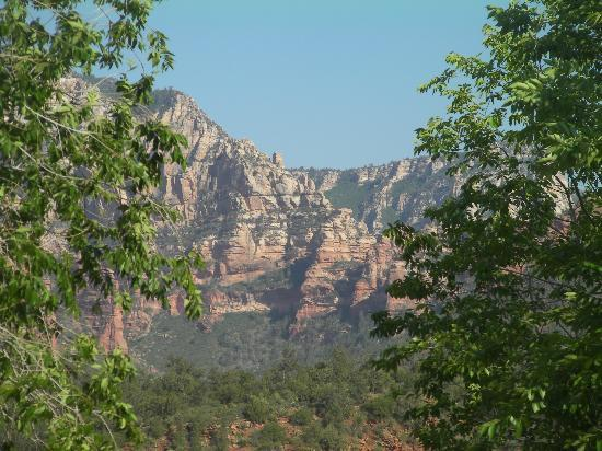 La Petite Sedona: This was the view from our back deck.