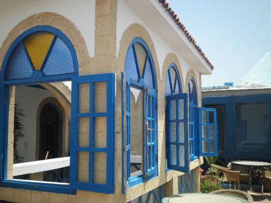 Hotel Riad Nakhla: Terraza