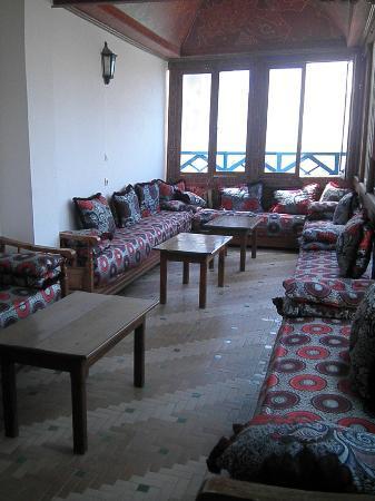 Hotel Riad Nakhla: Comedor