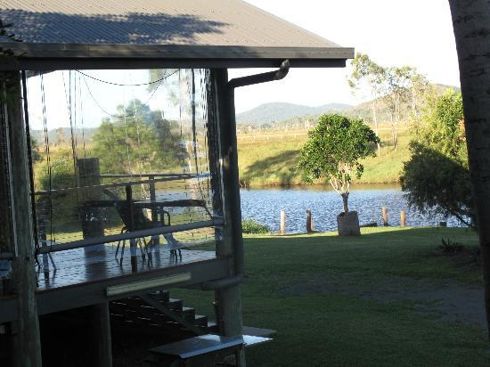 Henderson Park Farm Retreat: View from dining area