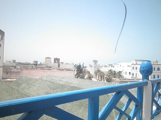 Hotel Riad Nakhla: Vista desde la terraza