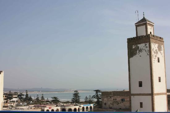 Hotel Riad Nakhla : Vista desde la terraza