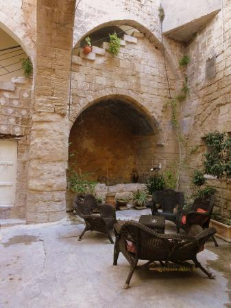 The Fauzi Azar Inn: terrace