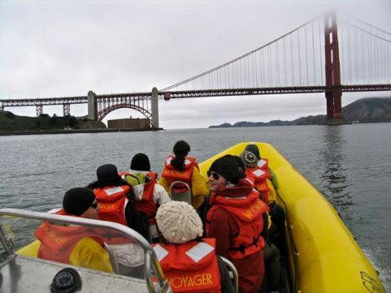 Bay Voyager: Approaching the Golden Gate