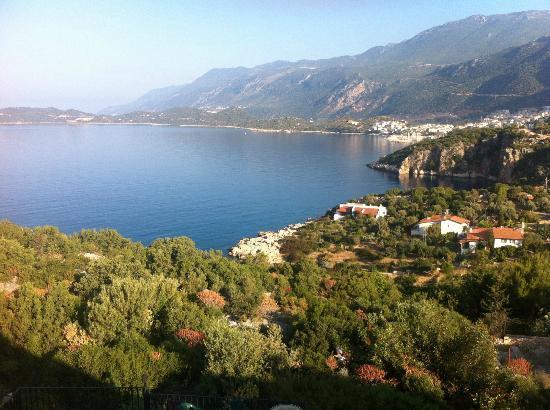 Villa Dundar Kas Apartments: View From Balcony