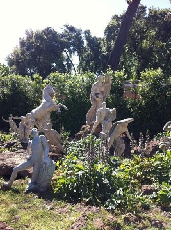 Villa Medici - Accademia di Francia a Roma: la Déesse Flora et ses enfants