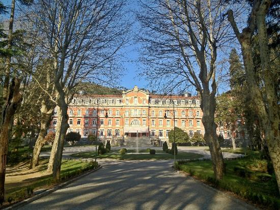 Vidago Palace Hotel: A fachada do palácio