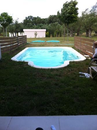 Atlantica Eleon Grand Resort & Spa: private pool outside our room