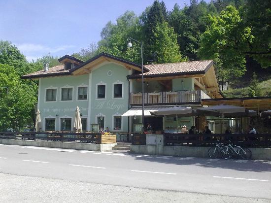Pizzeria Ristorante Bar Al Lago: Ristorante al lago