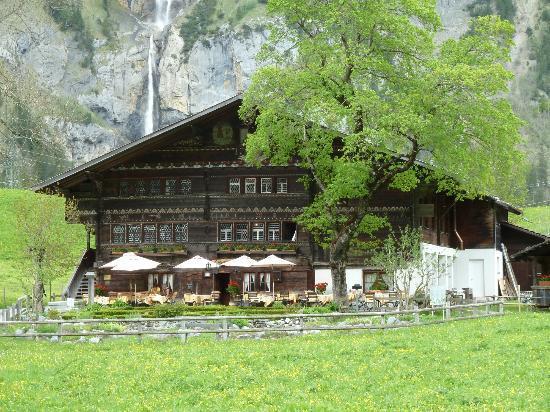 Landgasthof Ruedihus : Merveilleuse façade
