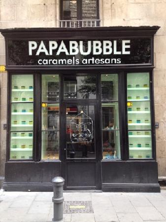 Papabubble: entrata