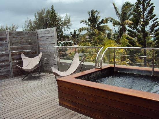 Mauricia Beachcomber Resort & Spa : The honeymoon suite balcony