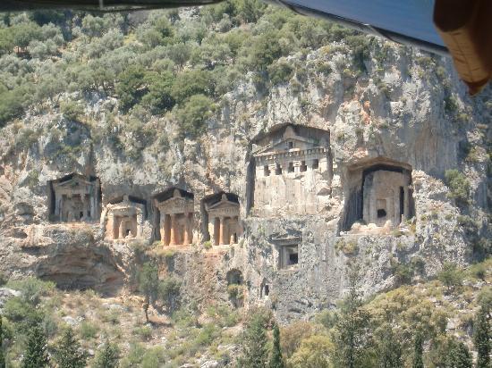 Marmaris Park: Dalyan rock tombs