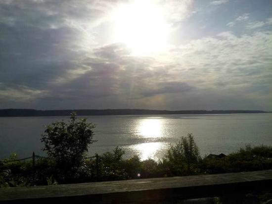 Camano Island Inn: view from the inn