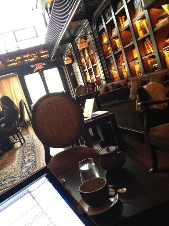 The NoMad Hotel: Library - great place to work during the daytime