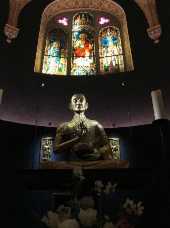 Tibet Museum : Buddhism and christianity...