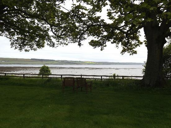 Kiltearn House: View from garden