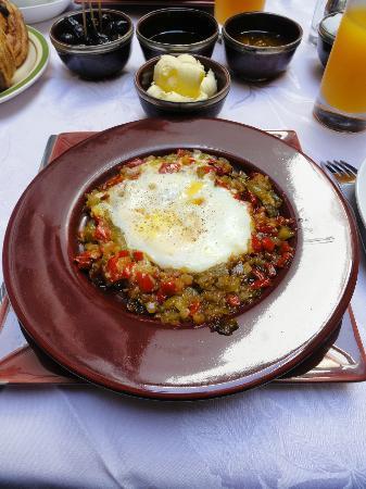 Riad Tamarrakecht : petit-déjeuner