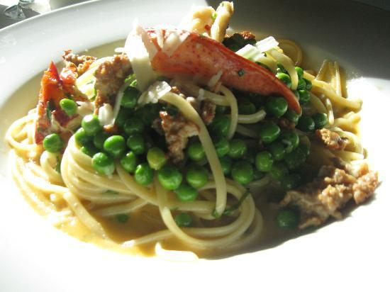 The Parlour : Lobster and Chorizo Linguini with Tarragon Sauce