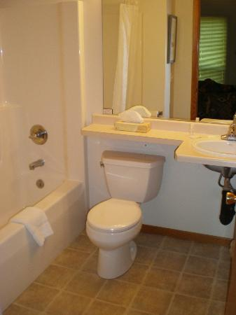Village View Inn: clean, updated bathroom